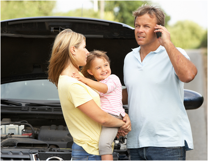Family Needing Roadside Assistance in Tampa, FL